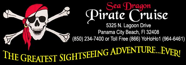Sea Dragon Pirate Cruise - 5325 N. Lagoon Drive, Panama City Beach Florida
