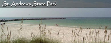 Welcome to our State Park! St. Andrews State Park, Panama City Beach Florida